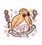 かわいいメガネ女子スタンプ(日常編)(個別スタンプ:32)