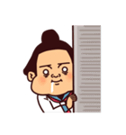 お相撲さんプリティー(個別スタンプ:40)