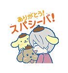 ユーリ!!! on ICE×サンリオキャラクターズ(個別スタンプ:8)