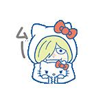 ユーリ!!! on ICE×サンリオキャラクターズ(個別スタンプ:10)
