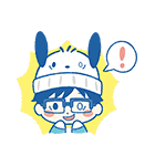 ユーリ!!! on ICE×サンリオキャラクターズ(個別スタンプ:12)