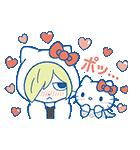 ユーリ!!! on ICE×サンリオキャラクターズ(個別スタンプ:13)