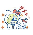 ユーリ!!! on ICE×サンリオキャラクターズ(個別スタンプ:18)