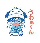 ユーリ!!! on ICE×サンリオキャラクターズ(個別スタンプ:24)