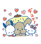 ユーリ!!! on ICE×サンリオキャラクターズ(個別スタンプ:28)