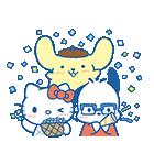 ユーリ!!! on ICE×サンリオキャラクターズ(個別スタンプ:30)