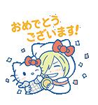 ユーリ!!! on ICE×サンリオキャラクターズ(個別スタンプ:34)