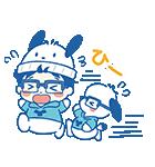 ユーリ!!! on ICE×サンリオキャラクターズ(個別スタンプ:35)