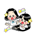 (星)きらきらガール(個別スタンプ:04)