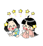 (星)きらきらガール(個別スタンプ:09)