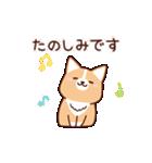 いたわりコーギー5【やさしい敬語】(個別スタンプ:07)