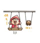 【癒し】Do your best. Witch hood(個別スタンプ:13)