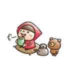 【癒し】Do your best. Witch hood(個別スタンプ:16)