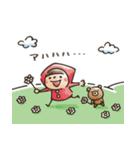 【癒し】Do your best. Witch hood(個別スタンプ:22)