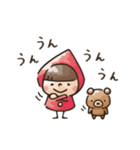 【癒し】Do your best. Witch hood(個別スタンプ:37)