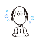 動く!SNOOPY★FUNNY FACES(個別スタンプ:21)