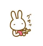 動く擬音語うさちゃん(個別スタンプ:03)