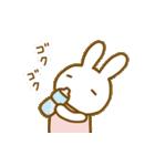 動く擬音語うさちゃん(個別スタンプ:15)
