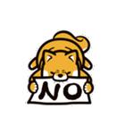 動く!柴犬マロン(個別スタンプ:03)