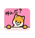 動く!柴犬マロン(個別スタンプ:05)