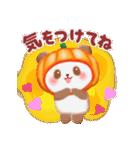 かぼちゃパンダさん「秋」(個別スタンプ:13)