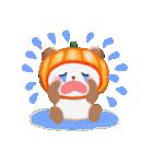 かぼちゃパンダさん「秋」(個別スタンプ:23)