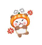 かぼちゃパンダさん「秋」(個別スタンプ:24)