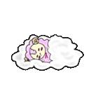 綿菓子羊のぽぅ(個別スタンプ:06)