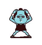 スポーティ侍・テニス(個別スタンプ:34)