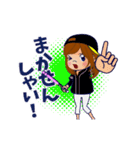動く!鷹党応援団【福岡弁編】①/女性限定(個別スタンプ:14)