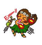 それいけ!アロハちゃん★(個別スタンプ:02)