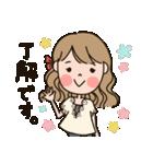 働く大人女子★キャリアウーマン(個別スタンプ:01)