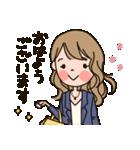 働く大人女子★キャリアウーマン(個別スタンプ:03)
