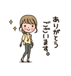 働く大人女子★キャリアウーマン(個別スタンプ:09)