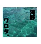 海野さんのスタンプ(個別スタンプ:05)