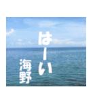 海野さんのスタンプ(個別スタンプ:08)