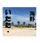 海野さんのスタンプ(個別スタンプ:12)