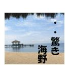 海野さんのスタンプ(個別スタンプ:16)