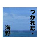 海野さんのスタンプ(個別スタンプ:31)