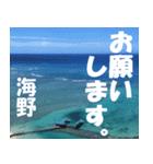 海野さんのスタンプ(個別スタンプ:38)