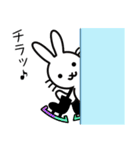 FSラビット GO!! YOU CAN(個別スタンプ:01)
