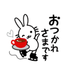 FSラビット GO!! YOU CAN(個別スタンプ:02)