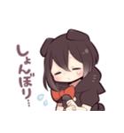 黒猫少女(個別スタンプ:32)