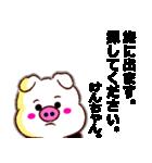 【決定版】名前スタンプ「けんちゃん」(個別スタンプ:40)