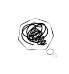 動くマンガ文字(個別スタンプ:09)