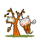 ブタさんの秋(個別スタンプ:12)