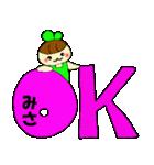☆みさのスタンプ☆(個別スタンプ:24)