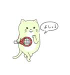 太っちょ猫、テニスをする(個別スタンプ:05)