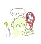 太っちょ猫、テニスをする(個別スタンプ:06)