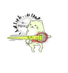 太っちょ猫、テニスをする(個別スタンプ:07)